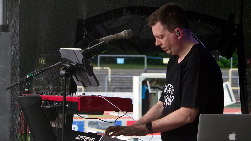 Markus Galla-Keyboarder-Open Air-Konzerte